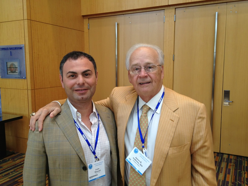 Dr. James Andrews, Docente di Ortopedia e Traumatolologia presso l'Università dell'Alabama, Birmingham USA