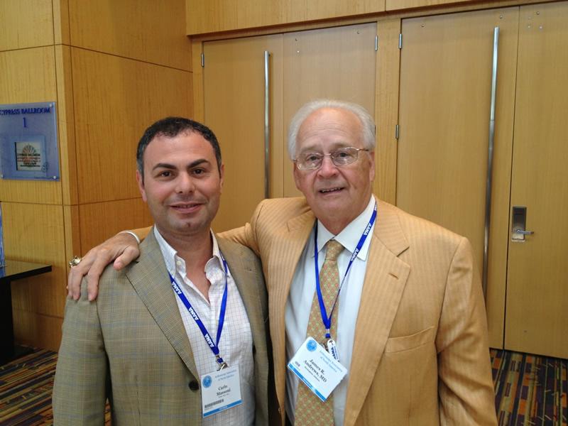 Dr. James Andrews, Docente di Ortopedia e Traumatolologia presso l'Università dell'Alabama, Birmingham USA